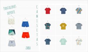 ropa deporte niño primavera verano 2018