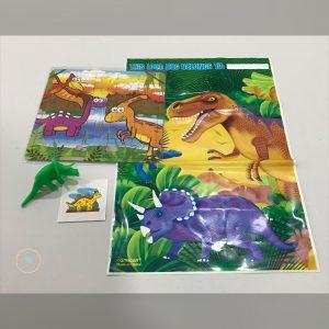 bolsa regalos dinosaurios