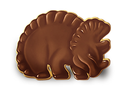 Galleta dinosaurio