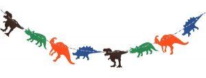 guirnalda dinosaurios