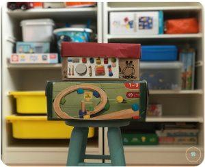 juguetes etiquetados