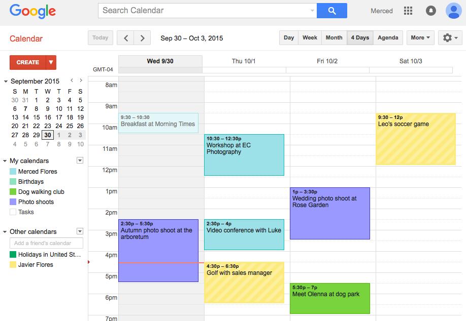 imagen completa ejemplo Google calendar