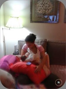 madre dando el pecho
