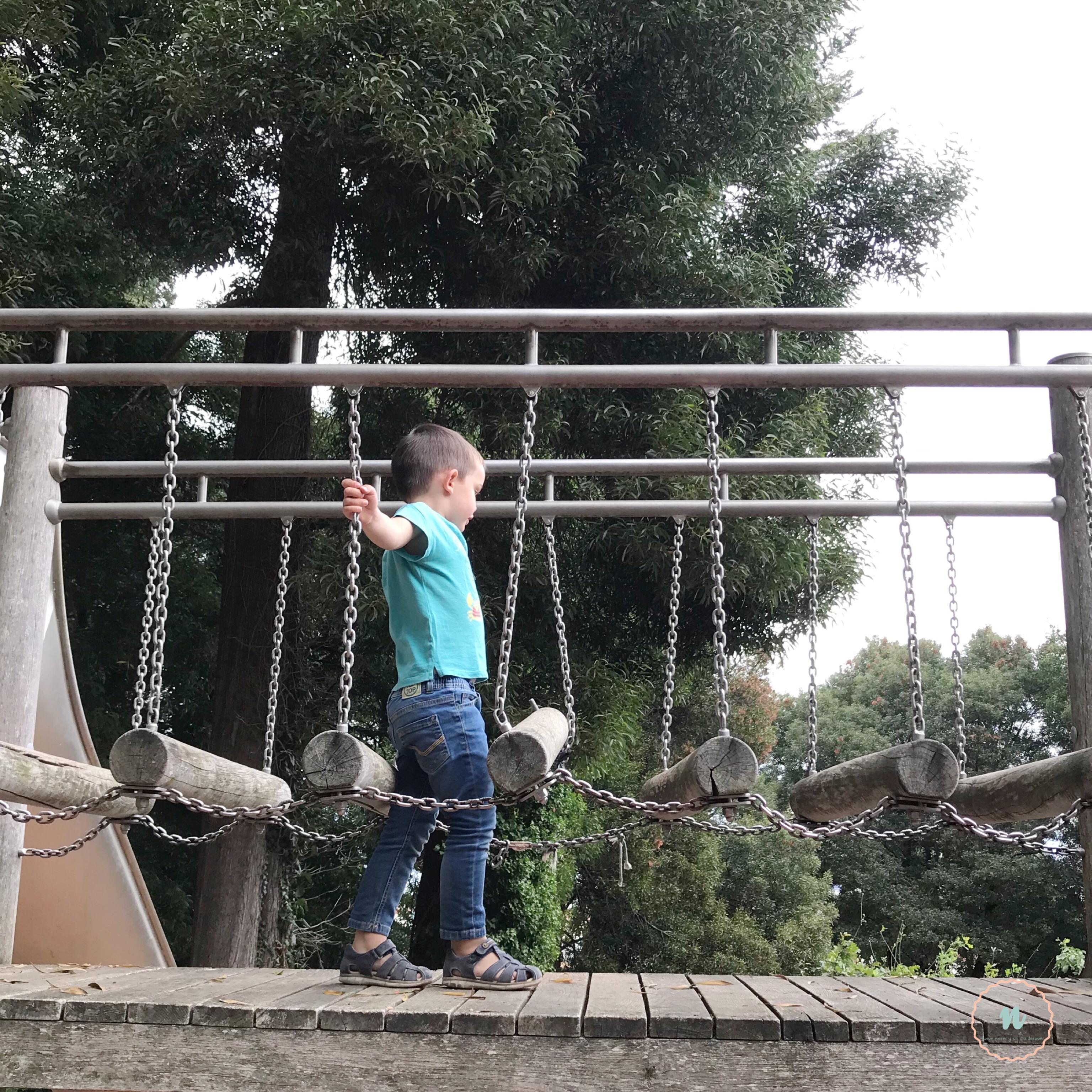 puente parque de los sentidos