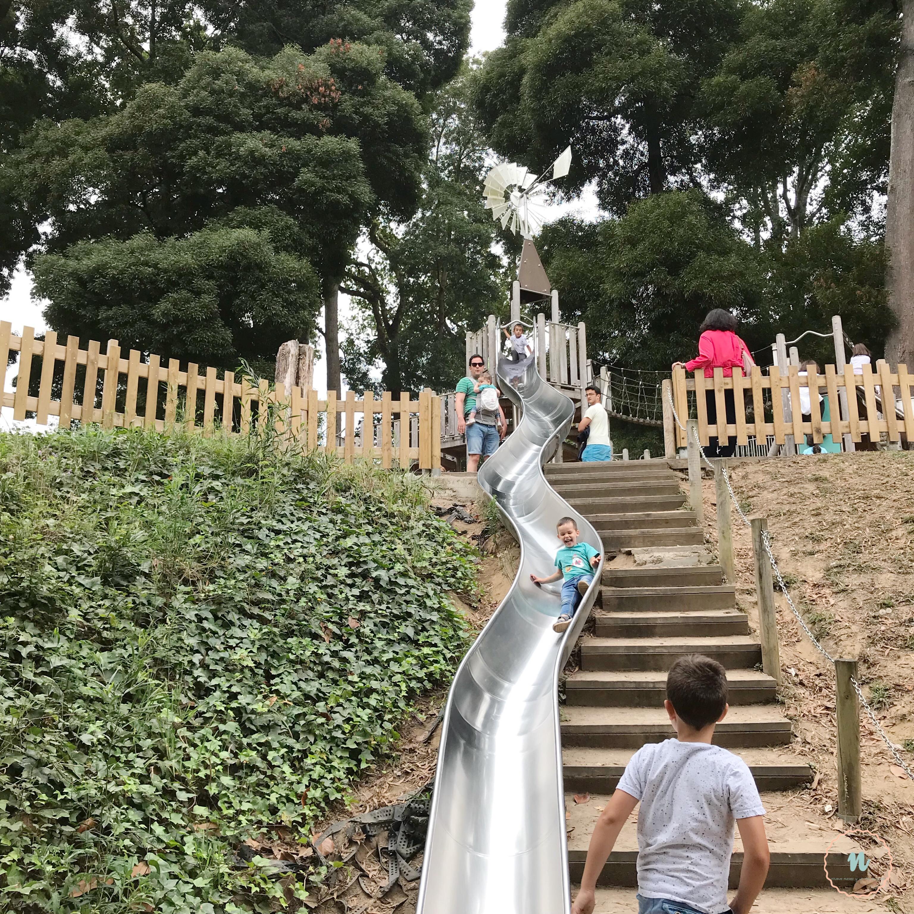 toboganes parque de los sentidos
