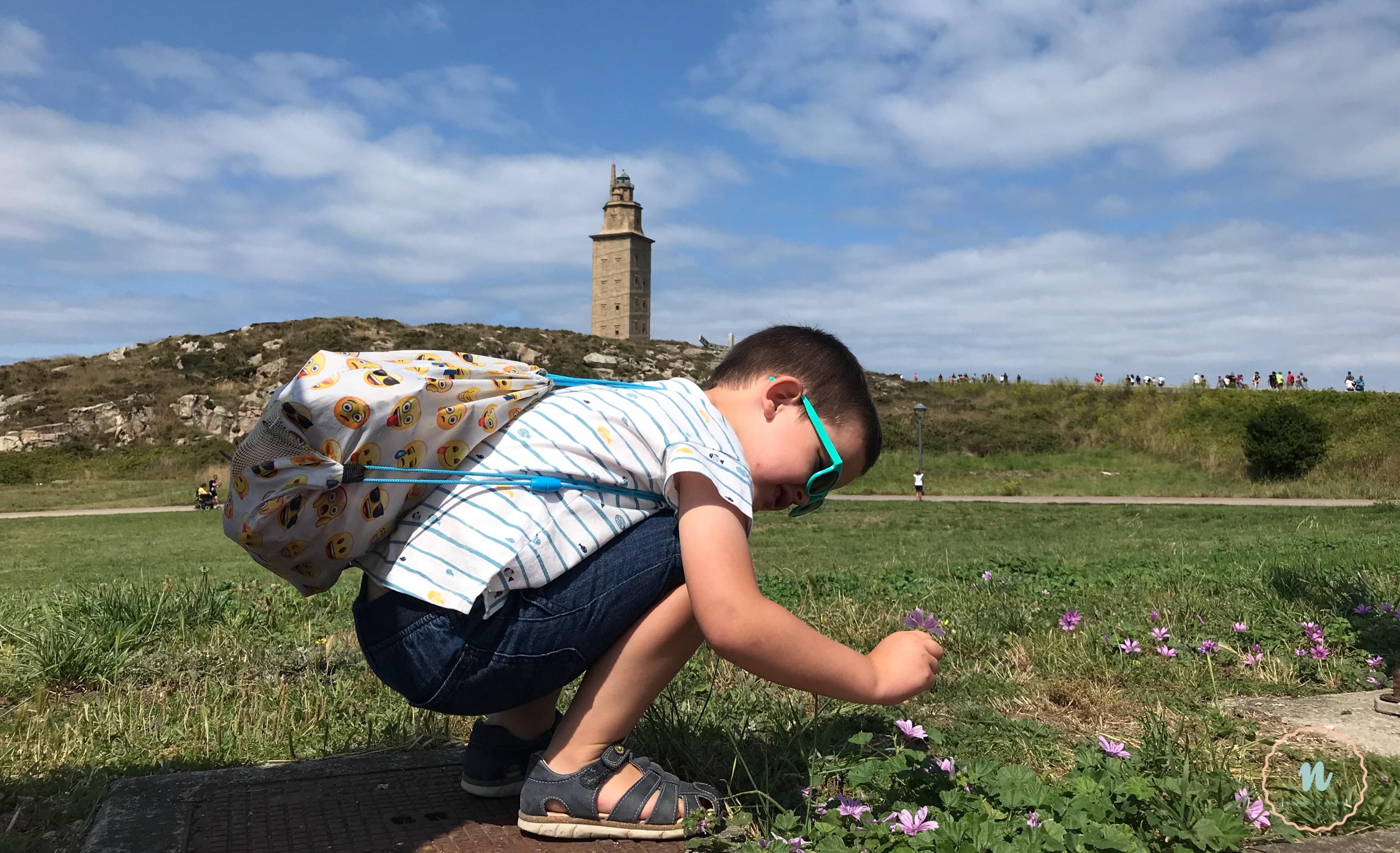 La Coruña con niños Torre de Hércules