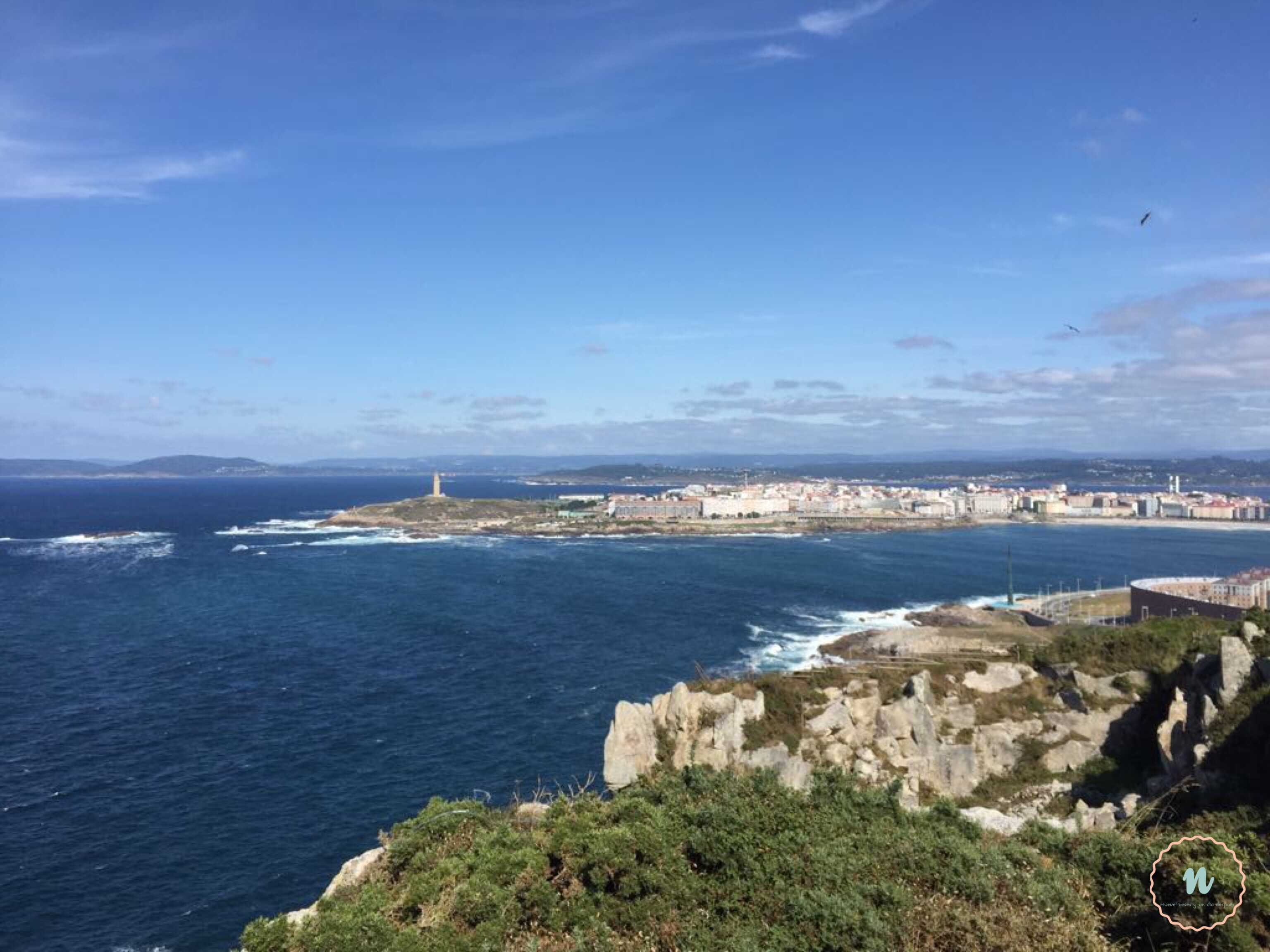 La Coruña con niños monte de San Pedro