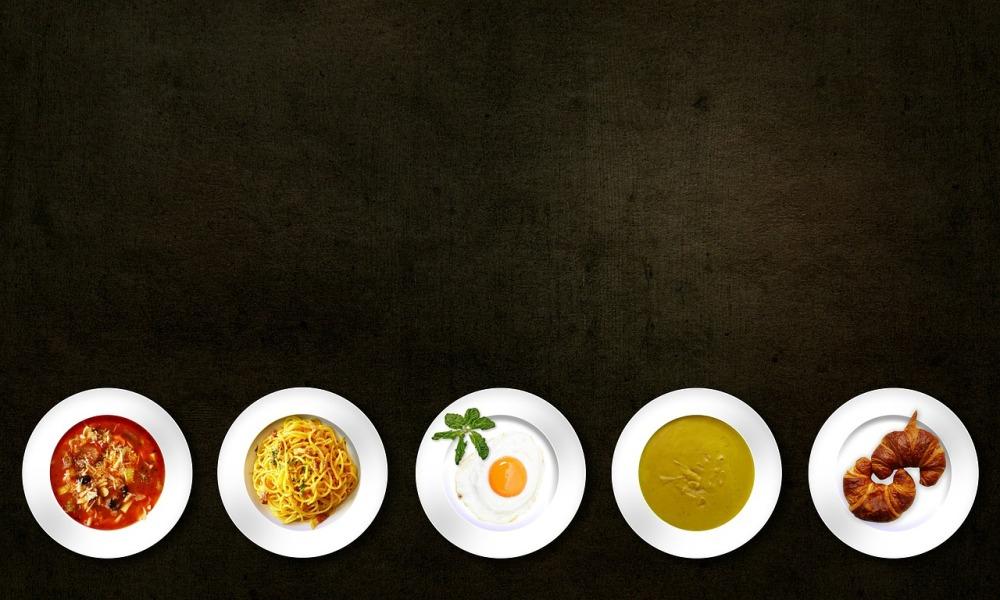 platos de comida