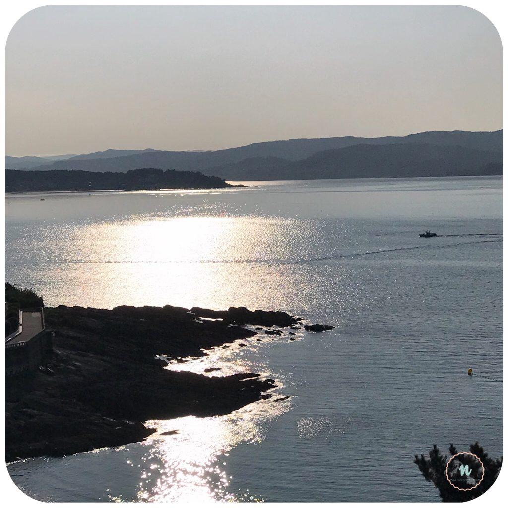 Vistas ría gallega
