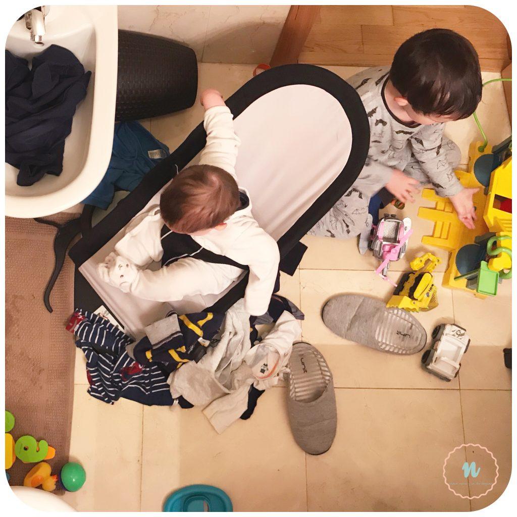 Caos en casa con niños
