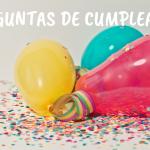 Preguntas de cumpleaños: creando recuerdos (para todo tipo de familias)