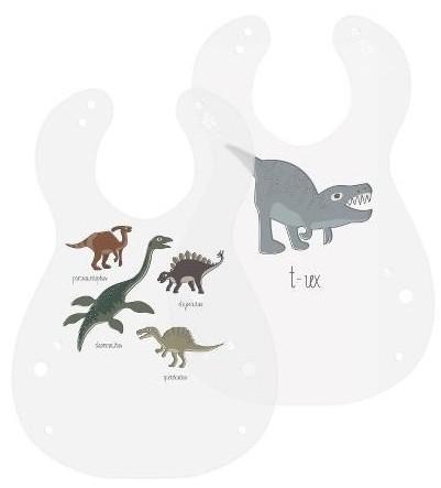 regalo dinosaurio babero bebé